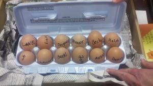 eggs inside