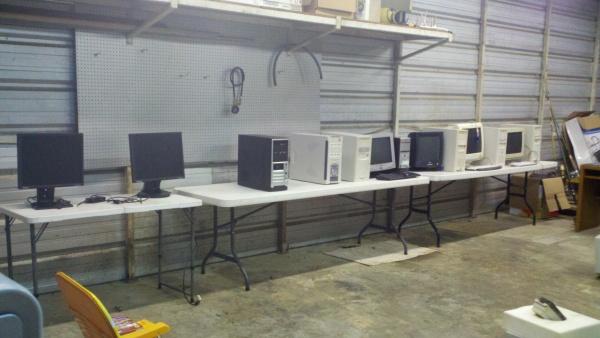 computers in garage