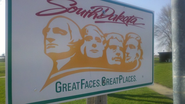 south dakota sign