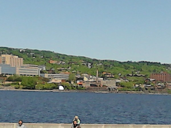 duluth from water