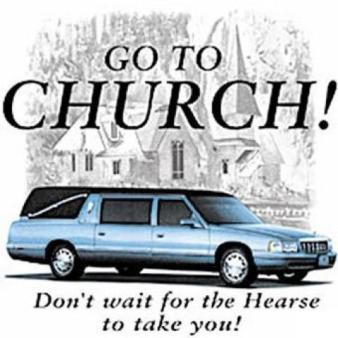 go to church