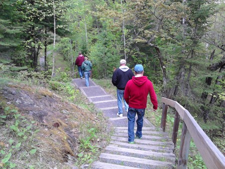 kettle falls the walk