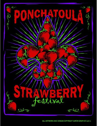 Ponchatoula Strawberry Festival Food