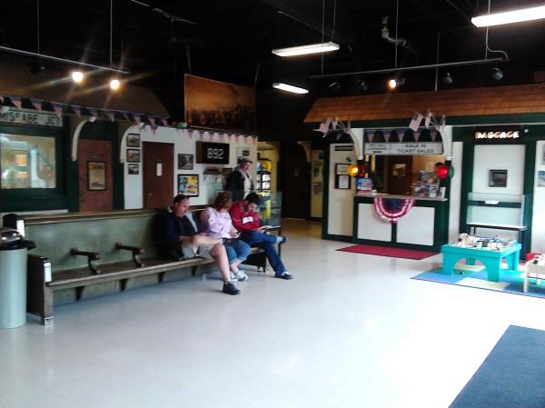 train station lobby