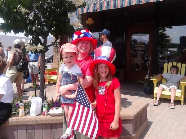 iday parade family