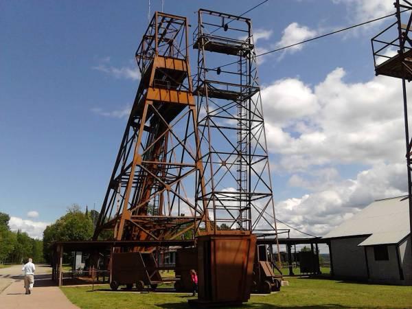 mine above ground tower
