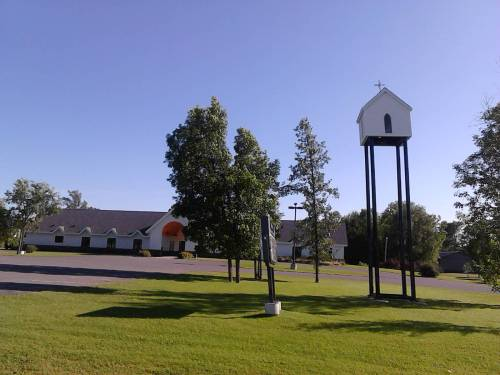 church in sky
