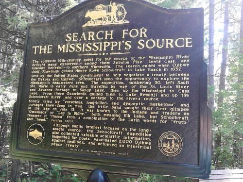 mississippi source sign