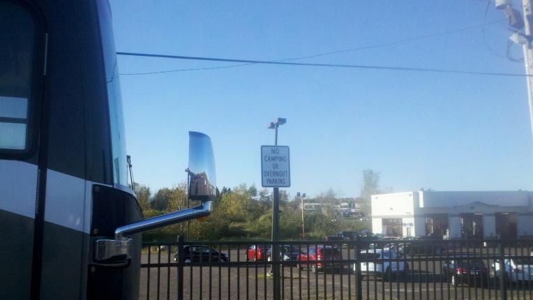 duluth no parking sign