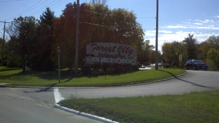 fc welcome sign