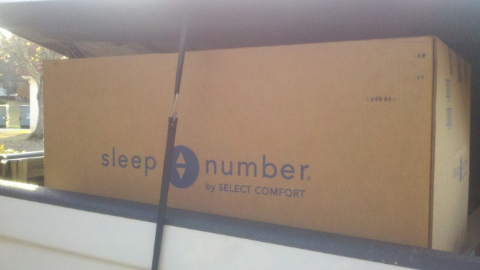 real sleep number box