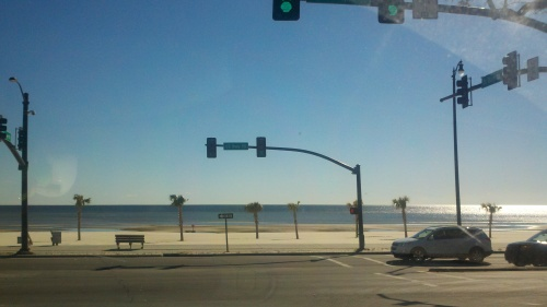 beach from road