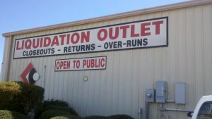 liquidation outlet
