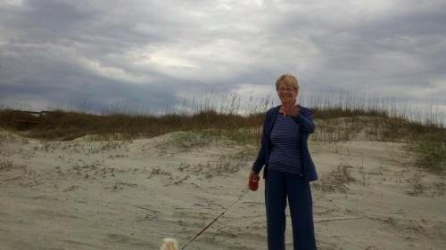 sa beach lady