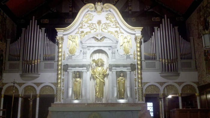 sa catholic church alter