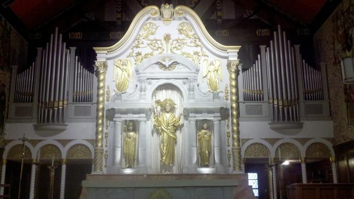 sa catholic church alter