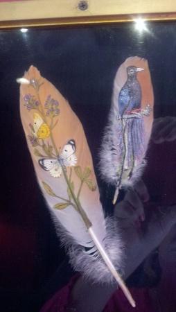 sa rbin feather art
