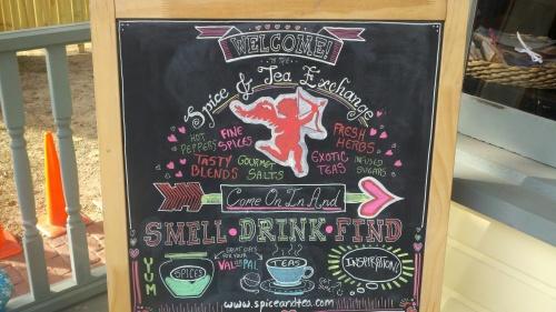 sa tea sign