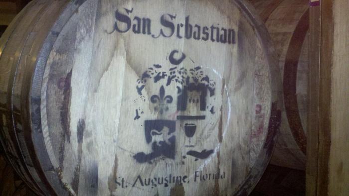 sa winery barrell with name