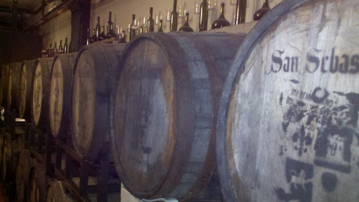 sa winery barrells