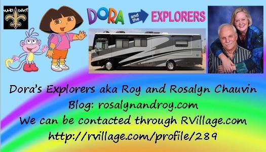 Dora and Explorers business card