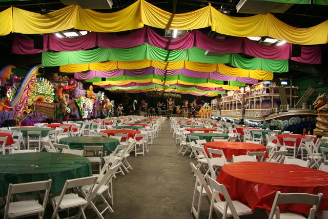 mardi gras inside bacchus