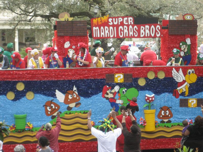 030414 Its Mardi Gras Time In New Orleans Dora And