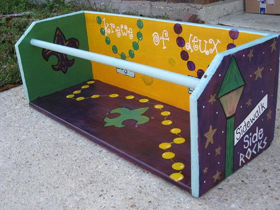mardi graw ladder box