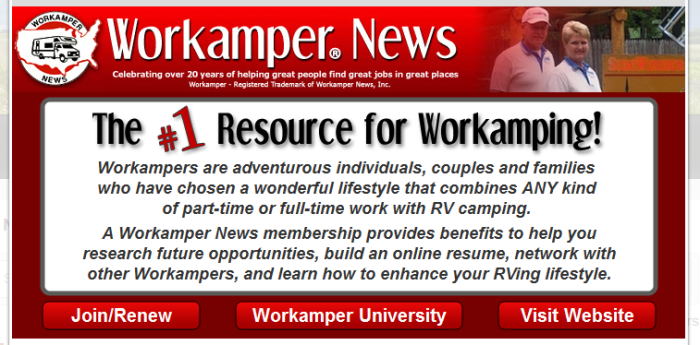 roys workamper news ad