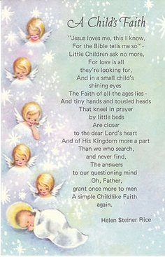 child like faith