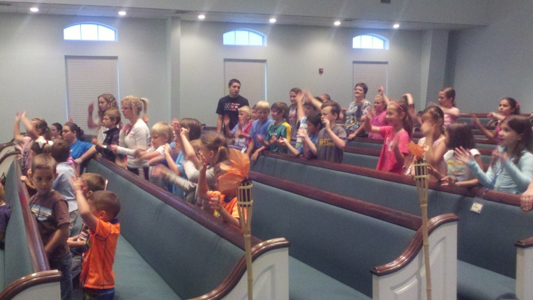 vbs sing in seats