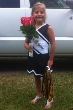 madisyn roses cheerleading saints