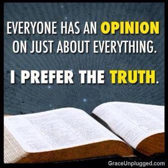 i prefer the truth