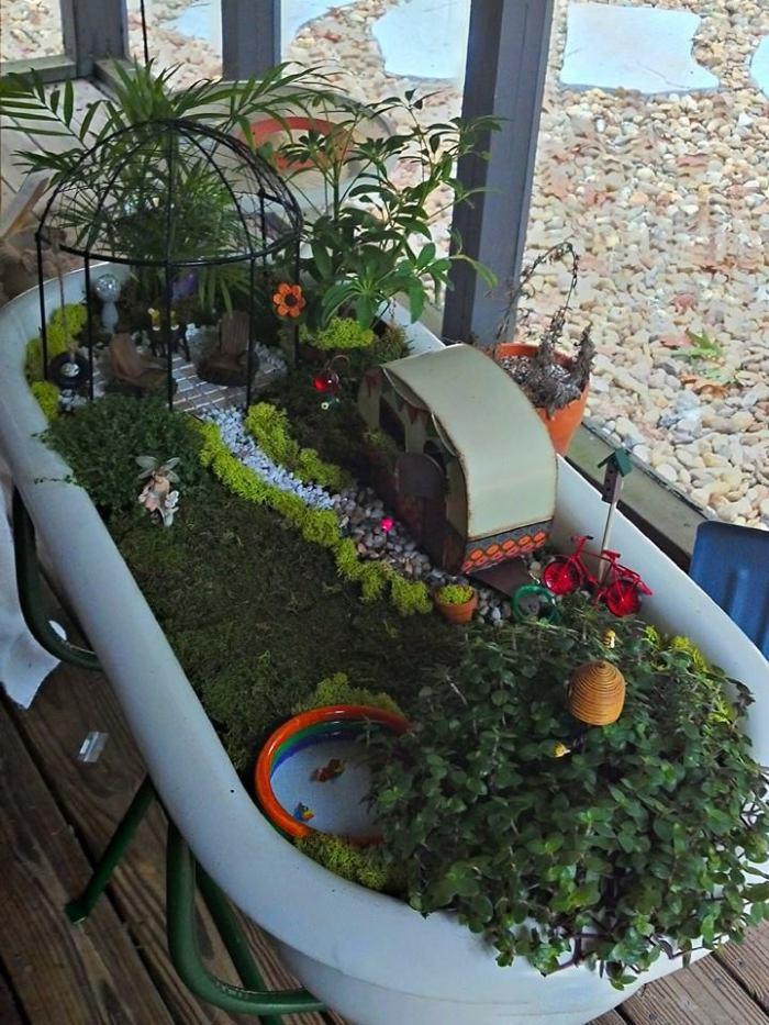 sept fairy garden
