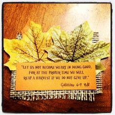 autumn scripture