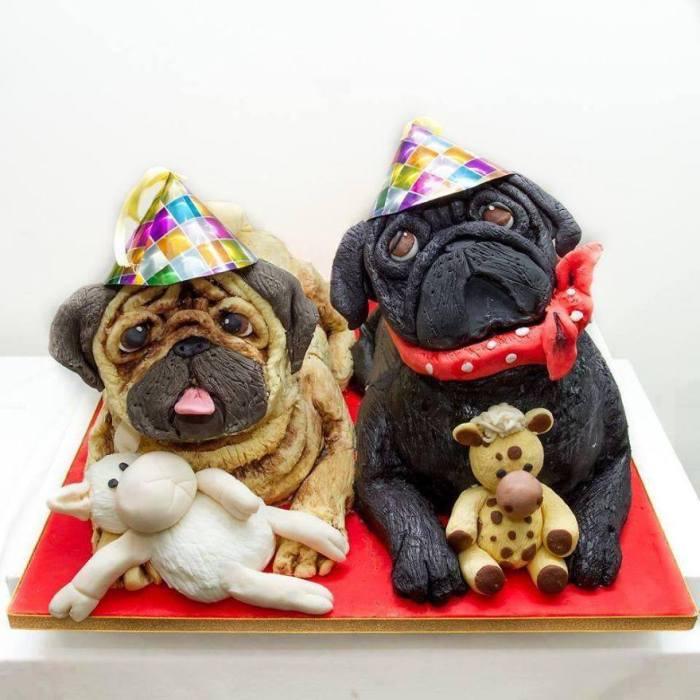 CREATIVE CAKES DOGS