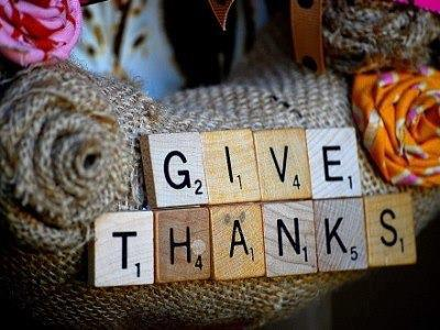give thanks scrabble letters