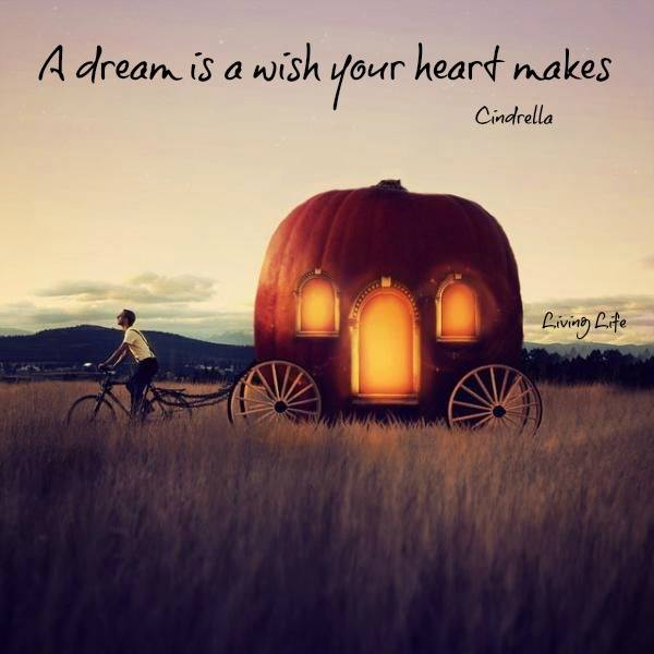 a drfeam is a wish your heart makes