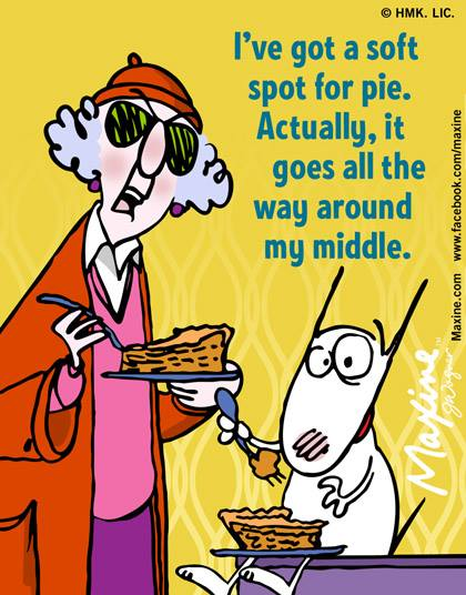 aunty acid soft spot for pie