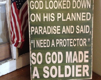 so god made a soldier