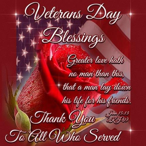 veterans day blessings