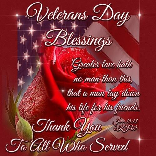 veterans day blessings