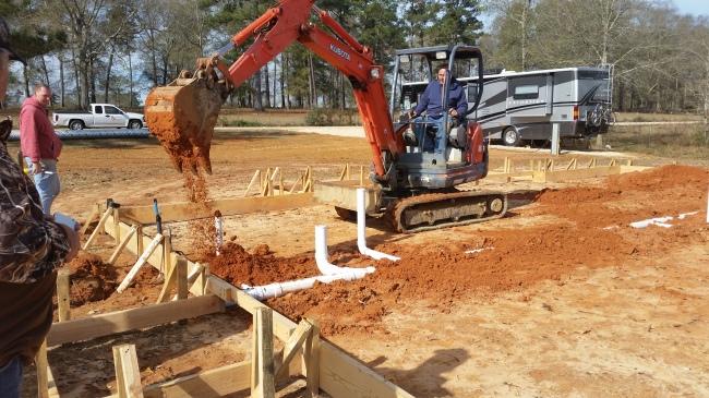 b plumb dirt