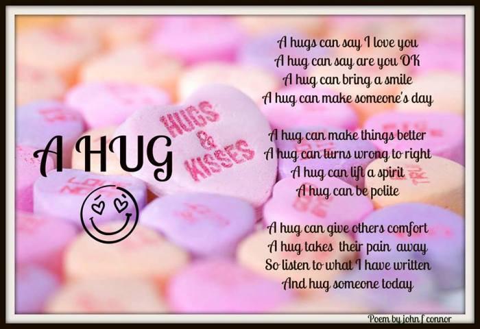 VALENTINES hug poem