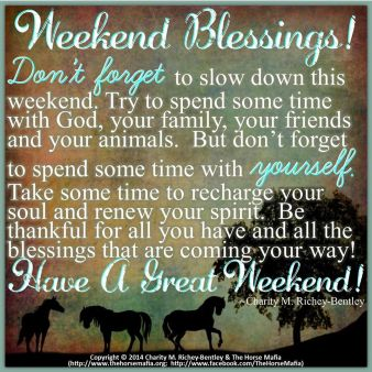 weekend blessing