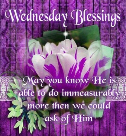 wednesday blessings