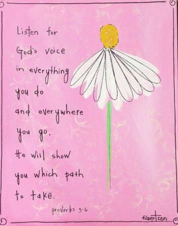 proverbs 3 6