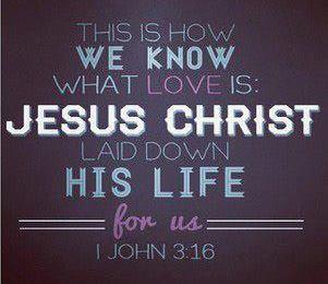 1 john 3 16