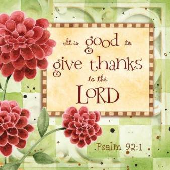 psalm 92 1