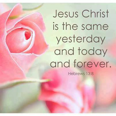 hebrews 13 8